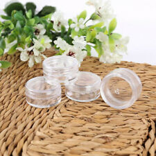 20-100x 5ml Plastic Sample Bottle Cosmetic Makeup Jar Cream Balm Containers Pots