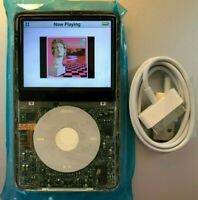 128GB iPod Classic Video 5th 5.5 Enhanced SD Card Transparent Wolfson DAC 120GB!