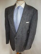MENS 44 R HARRIS TWEED NEW WOOL SUIT JACKET HACKING COUNTRY SPORTS BLAZER COAT
