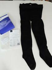 SIGVARIS COMFORT MEDICAL CLASS 1 COMPRESSION TIGHTS (XL)  BLACK  CLOSED TOE..