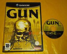GUN Nintendo GameCube Versione Italiana 1ª Edizione ○ SENZA MANUALE - BS