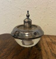 Vintage Hy-Glo Art Deco Frank Whiting Sterling Silver Table Cigarette Lighter