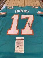 Allen Hurns Autographed/Signed Jersey JSA COA Miami Dolphins