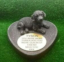 dog Large Pet Memorial/headstone/stone/grave marker/memorial with plaque ld1