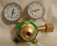 Hobart 770503 CGA-540 Medium Duty Oxygen Regulator and Gauges Compressed Gas
