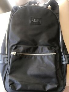 100% GENUINE VERSACE BLACK BACKPACK RUCKSACK USED TWICE