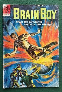 Brain Boy #4 Dell Comics Silver Age Superhero Sci-fi fun g/vg-