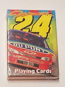 Jeff Gordon #24 Bicycle Playing Cards DuPont Nascar New and Sealed 1999