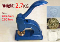 Large Personalized Custom design LOGO Embosser EZ stamp wedding sealing business