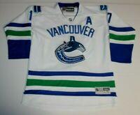 NHL Hockey Vancouver Canucks Ryan Kesler #17 Sewn Jersey Youth L / XL Reebok CCM
