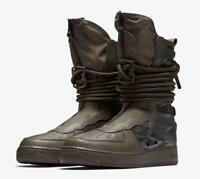 NIKE SF AF1 AA1128 203 RIDGEROCK BROWN/SEQUOIA GREEN - SPECIAL FIELD AIR FORCE
