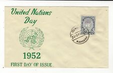 1952 THAILAND UNITED NATIONS DAY FDC