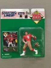 1995 STARTING LINEUP NFL Steve Young San Francisco 49ers Football Kenner SLU C94