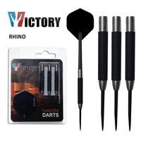 Rhino Tough Grip Tungsten Darts by Victory Darts - 22g 24g 26g 28g 30g 32g 35g