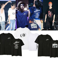 Kpop GOT7 KEEP SPINNING T-shirt Unisex Loose Shirt JB Mark YoungJae Fan Goods