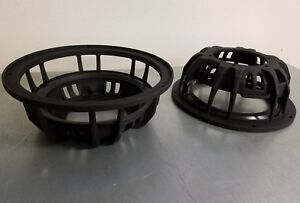 2 10 inch subwoofer frames with 8 inch spider adapters dc re aa sundown psi