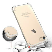 Slim TPU Rubber Clear Airbag Shockproof Case Cover For Apple iPhone 7 6 6s Plus