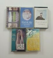 Christian Cassette Lot of 5 Titles SEE DESCRIPTION FOR TITLES
