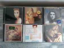 Celine Dion Lot Of 6 CD