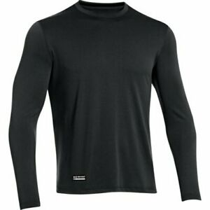 Under Armour 1248196001MD Tactical Tech Long Sleeve T-Shirt Black MD