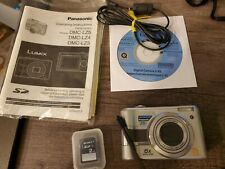 Panasonic LUMIX DMC-LZ3 5.0MP Digital Camera Silver w/ Manual and 2 GB Memory