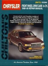 Chrysler Front-Wheel Drive Cars 6 Cylinder 1988-1995 Chilton repair manual 20384