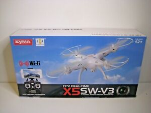 NEW Sealed SYMA X5SW-v3 WiFi FPV Drone 2.4Ghz RC Quadcopter Drone with HD Camera