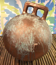 """Vintage 8"""" Authentic Fishing Float Bouy Ball With Handle"""