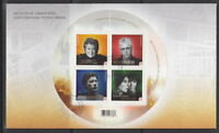 CANADA #2482b  CANADIAN RECORDING ARTIST SOUVENIR SHEET FIRST DAY COVER