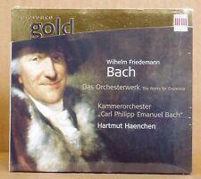 CD W.F.Bach Das Orchesterwerk KCPEB Hartmut Haenchen BC /Edel  2008 neu & ovp