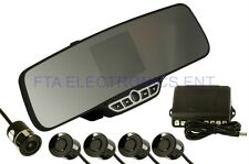 Car Wireless Rearview Mirror 3.5 LCD Screen Backup Camera Parking Sensors System