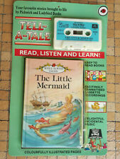 Pickwick Tell-a-Tale Ladybird Audio Cassette / tape book THE LITTLE MERMAID