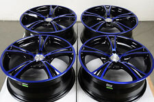 "17"" Effect Wheels Rims4 Lugs Integra Focus Escort Yaris Aerio Neon Accord Miata"