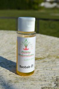 Baobab Öl 50 ml Baobaböl kaltgepresst 100% rein, natürlich, vegan, Hautöl