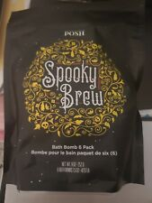 Perfectly Posh 6 Pack Spooky Brew Fizi Bath Bombs New