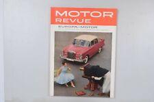 Motor Revue Europa Motor Ausgabe 32 Winterausgabe 1959