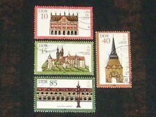 DDR 1984 gestempelt Nr. 2869 - 2872 Bauwerke Bauten Denkmalpflege ICOMOS ( 295 )