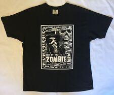 Vintage Winterland Rob Zombie 1999 Black White Band T Shirt Men's Size XL Cotton