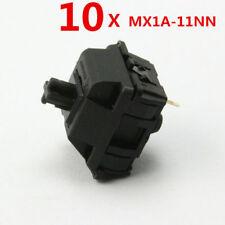 10 Pcs LOT Genuine Mechanical Keyboard Balck Axis Switch Cherry MX MX1A-11NN