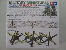 Tamiya Military Miniatures Barricade Set Model 1/35