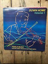 DOWN HOME VOLUME 1 FIDDLE MUSIC SCOTLAND TO NORTH AMERICA LISMOR FOLK LP