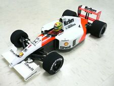1/10 RTR Prepainted 1991 F1 Mclaren MP4/6 Ayrton Senna RC Car Body Tamiya F104w