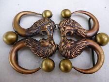 FIBBIA  gioiello  CHIUSURA COLLANA LEONI vintage BUCKLE BOUCLE  KNÖPFE