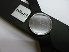 NEW a.b. Art Gents Watch Model O 102 with Sapphire Crystal Swiss Made RRP £216