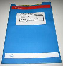 Werkstatthandbuch VW Polo 6N Classic Caddy Diesel Vorglühanlage Einspritzanlage!