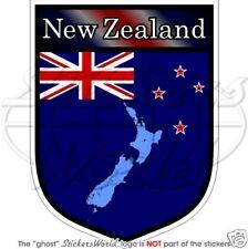 """NEW ZEALAND Shield 100mm (4"""") Vinyl Bumper Sticker Decal"""