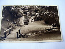 LOVELY OLD PHOTOGRAVURE PC: ISLE OF WIGHT~SHANKLIN~CHINE HOLLOW