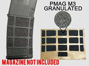 Granulated GUN GRIP For PMAG 30 GEN M3 Full Coverage Magpul