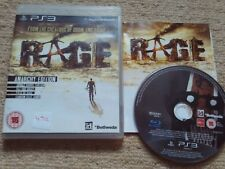 RAGE ANARCHY EDITION   - Rare Sony PS3 Game