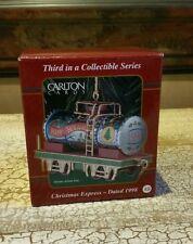 Carlton Cards Heirloom Collection Christmas Express 1998 *NIB*  CXOR-004Y